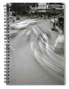 Swirling Motion Spiral Notebook
