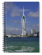 Spinnaker Tower Spiral Notebook