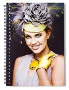 Spring Carnival Beauty Spiral Notebook