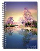 Spring In The Gardens Spiral Notebook