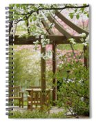 Spring Seating Spiral Notebook