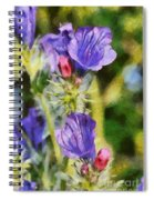 Spring Wild Flower Spiral Notebook