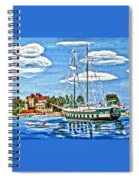 St Lawrence Waterway 1000 Islands Spiral Notebook