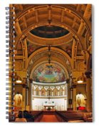 St. Leonard's Church....boston Spiral Notebook