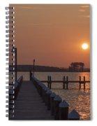 St Marys County Maryland Sunrise Spiral Notebook