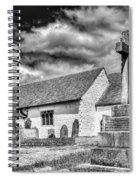 St Sannans Church Bedwellty 2 Mono Spiral Notebook