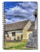 St Sannans Church Bedwellty 2 Spiral Notebook