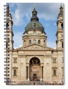 St. Stephen's Basilica In Budapest Spiral Notebook
