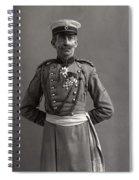 Stage German Officer Spiral Notebook