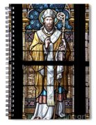 Stained Window Spiral Notebook