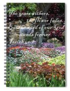 Stands Forever Spiral Notebook
