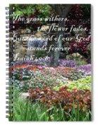 Stands Forever Spiral Notebook