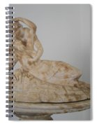 Statue In The Temple Of Good Will Spiral Notebook