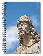 Statues Of Prophets Spiral Notebook