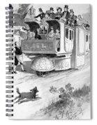 Steam Carriage, 1832 Spiral Notebook