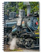 Steam Power Spiral Notebook
