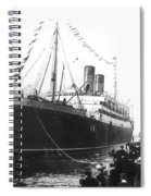 Steamship Accident, 1914 Spiral Notebook