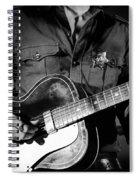 Stella Burns Live Monochrome Spiral Notebook