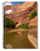Stevens Arch - Escalante River - Utah Spiral Notebook