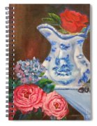 Rose And Pitcher Jenny Lee Discount Spiral Notebook