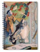 Still Life With Horse's Head Spiral Notebook