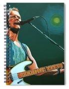 Sting Spiral Notebook