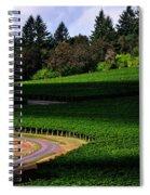 Stoller Vineyard Roads 19050 Spiral Notebook
