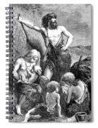 Stone Age Family Spiral Notebook