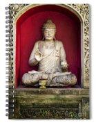 Stone Statue Of Buddha In Bali Indonesia Spiral Notebook
