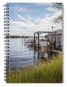 Stoney Creek Marina Spiral Notebook