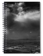 Storm Over The Kittitas Valley Spiral Notebook