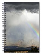 Storm Over The Organ Mountains Spiral Notebook