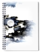Stormy Moon Spiral Notebook