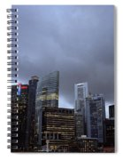 Stormy Singapore Spiral Notebook
