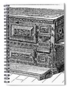 Stove, 1876 Spiral Notebook