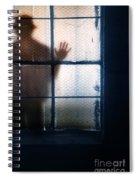 Stranger At The Window Spiral Notebook