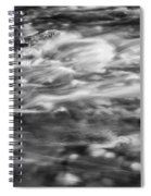 Stream Fall Colors Great Smoky Mountains Painted Bw  Spiral Notebook