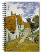 Street In Auvers-sur-oise Spiral Notebook