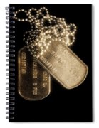 Stripes Of Commitment Spiral Notebook