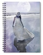 Strolling In Paradise Spiral Notebook