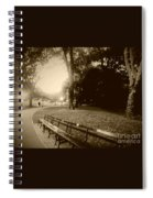 Strolling Through The Park Spiral Notebook