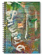 Studio Wall Series Untitled Spiral Notebook
