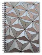Sub Triangles Spiral Notebook