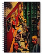 Subway Spiral Notebook