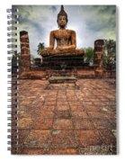 Sukhothai Buddha Spiral Notebook
