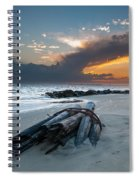 Sullivan's Island Sunset Spiral Notebook