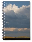 Summer Clouds Spiral Notebook