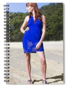 Summer Fashion Style Spiral Notebook