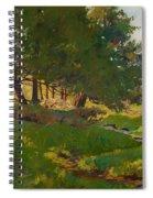 Summer Near Beaupre Spiral Notebook