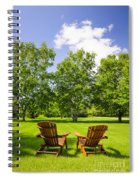 Summer Relaxing Spiral Notebook